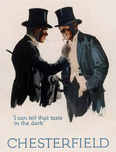 Chesterfield I Can Tell Taste In The Dark 1926