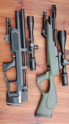 Survival Weapons, Weapons Guns, Airsoft Guns, Guns And Ammo, Survival Gear, Cool Walking Canes, Air Rifle Hunting, Rifle Stock, Shooting Guns