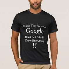 Men's Basic American Apparel Black T-shirt - quote pun meme quotes diy custom