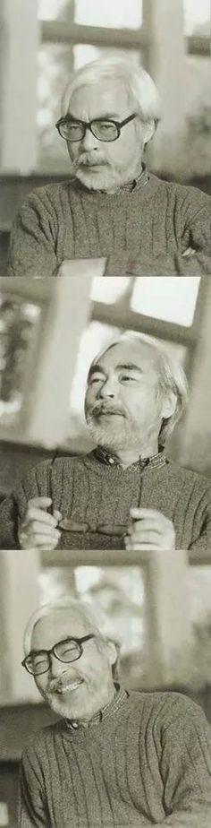 Il Maestro Hayao Miyazaki