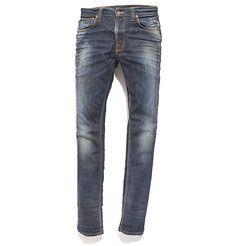 Nudie Jeans Grim Tim Organic White Knee - Men's Slim Fit Jeans - sold at Nau.com