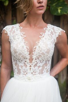 A one of a kind Berta combination. Highly desired and hard to find. Wait time for order is typically at least 6 months. This is the top and bottom of two different dresses. You have the option to mix