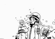 Luffy Sanji Franky