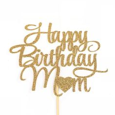 Excited to share this item from my shop: Happy Birthday Mom Cake Topper, Mother's Birthday Cake Topper, Mother Birthday Party, Mom Birthday Cake Topper, Mother's Day Cake Topper Happy Birthday Mom Cake, Happy Birthday Mom Images, Mother Birthday Cake, Happy Birthday Wishes Sister, Happy Birthday Floral, Happy Birthday Wallpaper, Happy Birthday Messages, Birthday Cake Toppers, Birthday Quotes
