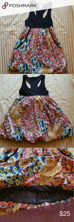 Fire  Los Angeles Floral Dress size M Excellent  Condition Fire Los Angeles Dresses Midi