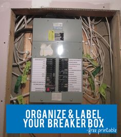 leviton residential multimedia surge protection panel 005 51110 organize label your circut breaker box circuit label printable