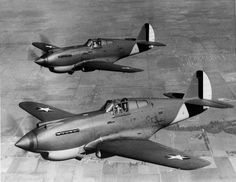 The Curtiss P-40 Warhawk was tough and virtually trouble-free. It was the most important American fighter plane of 1942-1943. It saw continual improvements to arms and armor. Engines, too, were regularly uprated.