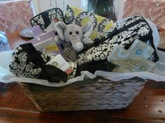 Dreamy Damask basket-Nursery,travel container and Changing mat  www.lilicouture.com