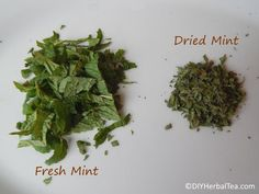 See how to make mint tea with fresh or dried leaves. This simple mint tea recipe is quick and easy to brew! Fresh Mint Tea, Mint Iced Tea, Fresh Mint Leaves, Peppermint Leaves, Peppermint Tea, Mint Recipes, Tea Recipes, Parsley Tea, Drying Mint Leaves