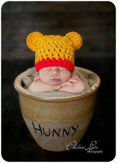Pooh baby photo shoot