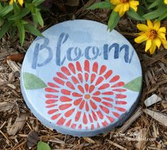 Create a little fun and whimsyin yourGarden with a Bloom Garden Stepping Stone. My garden stone was recently featured in Craft Ideas Magazine's 2017…