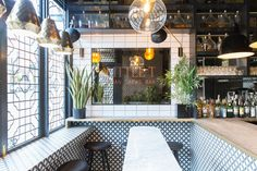 Our light fixtures feature in Tootoomoo, Crouch End designed by Kingston Lafferty Design