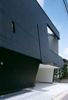 Los Angeles-based IDEA Office designed the Y-House, a home for a young family in a suburb of Tokyo, Japan.