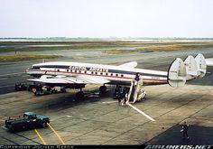 Capitol Airways Lockheed L-1049H Super Constellation (N1008C) at New York KJFK late 1960's