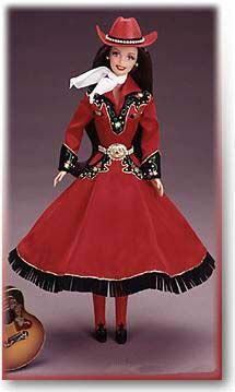 1997-Barbie Country Rose