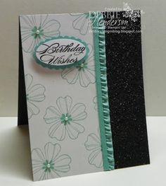 Debbie's Designs: Merchandise Monday-Black & Orange Stampin' Glitter!