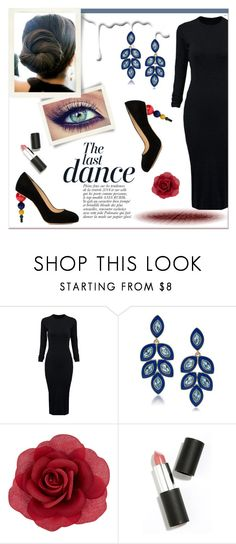 """""""Statement Heels"""" by delucia ❤ liked on Polyvore featuring Nivea, WithChic, Carolee, Accessorize, Sigma Beauty, Anja, Charlotte Olympia, women's clothing, women and female"""