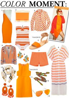 COLOR MOMENT: TANGERINE