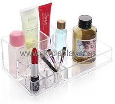 Customized acrylic cosmetic store display lucite display stands product display CO-130