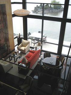 Ledgerock Residence with Hudson River views-Ledgerock Residence with Hudson River views-Lee Ledbetter & Associates