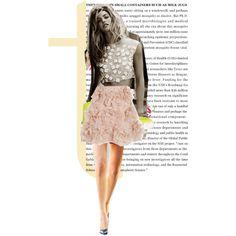 """Pink Floral Christ"" by allie-reyes-zanic on Polyvore"