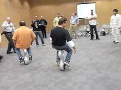 Honda's self-balancing U3-X electric unicycle - YouTube