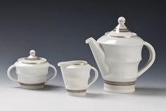Nora Gulbrandsen, Porsgrunds Porselænsfabrik AS (Produsent), Sugar Bowl, Bowl Set, Porcelain, Design, Porcelain Ceramics, Tableware