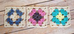 Basic Granny Square Crochet Pattern