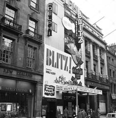 The Adelphi Theatre in the West End, Central London England on 22nd May 1962