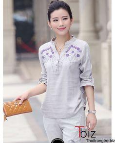 Những mẫu áo hè 2016 đẹp cho phụ nữ U40