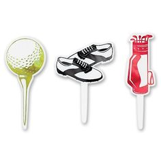 Golf Games Collection | DecoPac Golf Themed DecoPic Cupcake Picks 12 Count by Decopac  Toys ** Learn more by visiting the image link. Note:It is Affiliate Link to Amazon. #2018