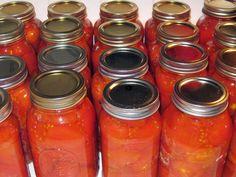 HGTV Gardens homestead blogger Mick Telkamp offers easy tips for canning your summer tomato bounty.