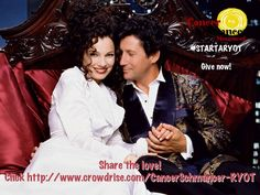 Isn't it Romantic?! Ad for Cancer Schmancer Fran Drescher's Charity to rid our world of Cancer.