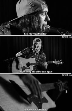 Hold On Till May - Pierce The Veil literally listening to the acoustic version right now