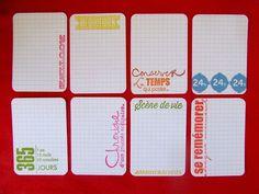 Project-Life : des étiquettes journaling en français fait-main