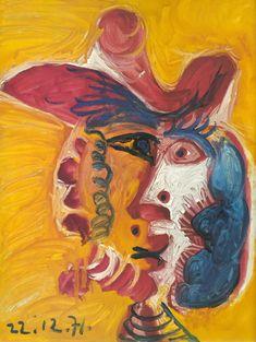Tête d`Homme 93, 1971 © Pablo Picasso