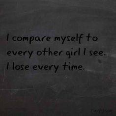 Dark Depressed Quotes | quote depressed sad myself skinny time black fat other ugly see i sad ...