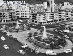 Década 50. Plaza El Silencio (ARCHIVO EL NACIONAL)