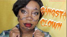 Chrisspy Inspired Gangsta Clown Halloween Makeup Tutorial | 2016