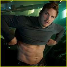 Chris Pratt...again. I need to see Guardians of the Galaxy for the second time, for some reason...