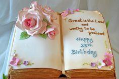Inspiración: torta de biblia. Que lo disfruten. (Bible cake. Enjoy!)