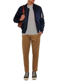 Nylon-blend bomber jacket | Maison Kitsuné | MATCHESFASHION.COM