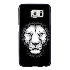 Coque Samsung Galaxy S6 Rigide Portrait Lion
