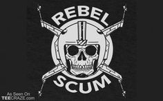 Shop Rebel Scum star wars t-shirts designed by blairjcampbell as well as other star wars merchandise at TeePublic. Freaky Deaky, Rebel Scum, Movie Characters, Fictional Characters, Graphic Artwork, Star Wars Rebels, Disney Star Wars, Nerd Geek, Tattoo You