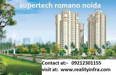 Time to settle in Rome within India, Supertech has brought an extra ordinary residential project Supertech Romano, the innovatively constructed this residential project has offered 2BHK and 3BHK flats which are fully loaded with luxurious amenities and lavishing comforts. The project has offered tremendous facilities and built in super glorious way and located in Noida.    Amenities:-   Supertech Romano    Vaastu Compliant    Venture Name: Supertech Romano    Category: Residential Apartments…