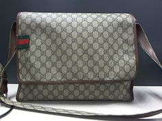 $699 GUCCI MONOGRAM LAPTOP BAG CROSSBODY Great Grads and Dads Gift Ideas at Max Pawn www.maxpawnlv.com Free Shipping 702-253-7296