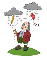 benjamin franklin and his inventions clip art 12 pngs pinterest rh pinterest com ben franklin kite clipart ben franklin kite clipart