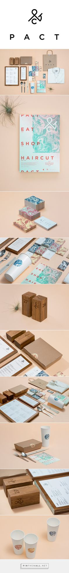 PACT Restaurant Branding and Menu Design by ACRE | Fivestar Branding Agency – Design and Branding Agency & Curated Inspiration Gallery