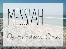 Messiah literally means anointed one. Some time between the anointing of David as King of Israel and Jesus Christ, the term transitioned to someone who is literally anointed to an actual person who was coming to save them all. www.figtreechristian.org #scripture #Messiah