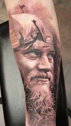 ragnar lothbrok Vikings tattoo